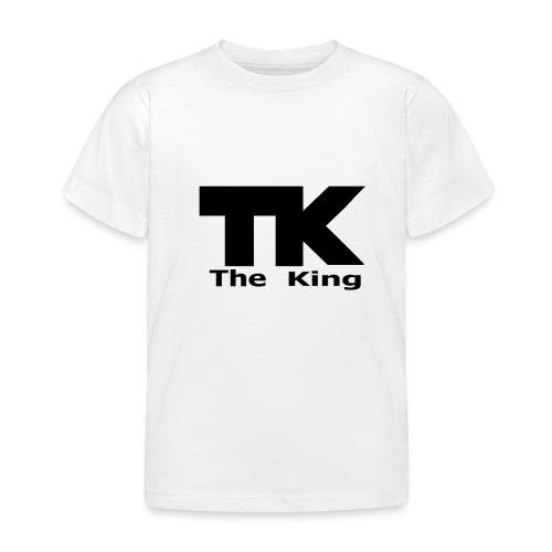 The King med ram - T-shirt barn