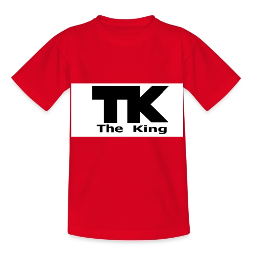 The King med ram - T-shirt barn
