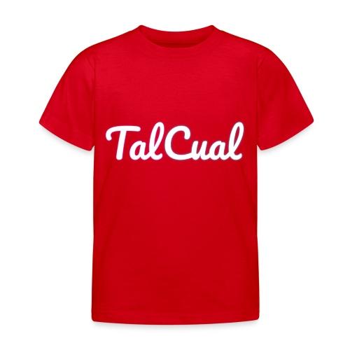 TalCual Logo Alternativo - Camiseta niño