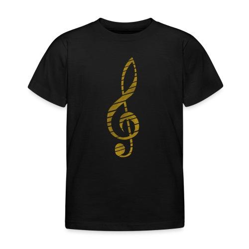 Distressed Musik Schlüsse - Kids' T-Shirt