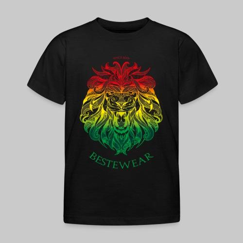 #Bestewear - Rastafari Lion - Kinder T-Shirt