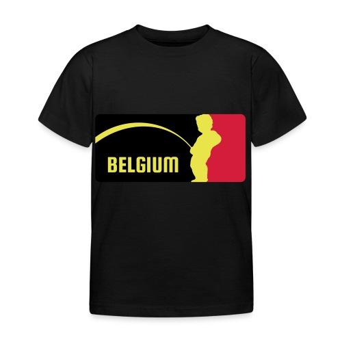 Mannekke Pis, Belgium Rode duivels - Belgium - Bel - T-shirt Enfant