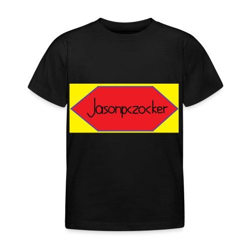 Jasonpczocker Design für gelbe Sachen - Kinder T-Shirt