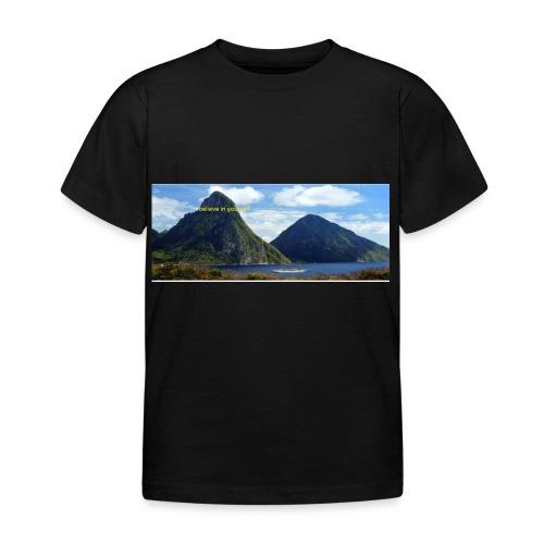 believe in yourself - Kids' T-Shirt