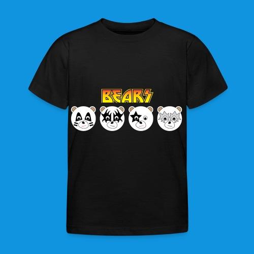 Kiss Bears.png - Kids' T-Shirt