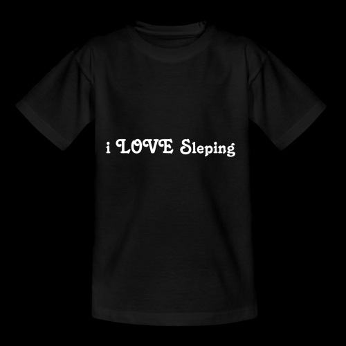 i love sleeping weiss - Maglietta per bambini