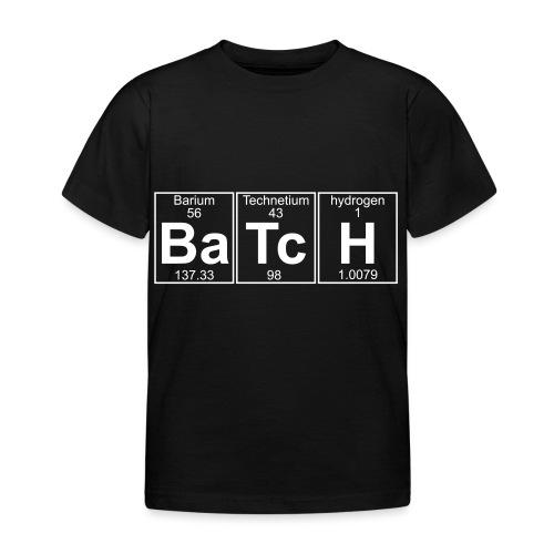 Ba-Tc-H (batch) - Full - Kids' T-Shirt