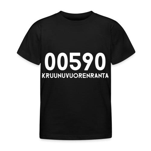00590 KRUUNUVUORENRANTA - Lasten t-paita