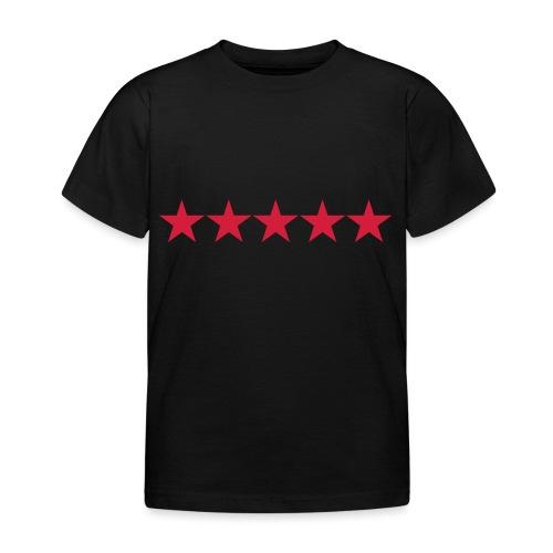 Rating stars - Lasten t-paita