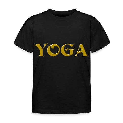 Yoga - Kinder T-Shirt