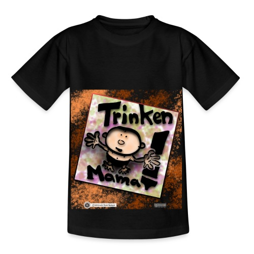 Design Baby Trinken Mama - Kinder T-Shirt
