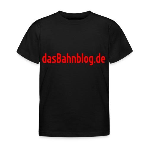 dasBahnblog de - Kinder T-Shirt