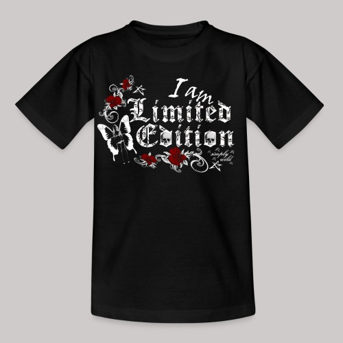 simply wild limited edition on black - Kinder T-Shirt
