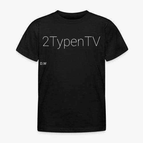 2typenTV - Kinder T-Shirt