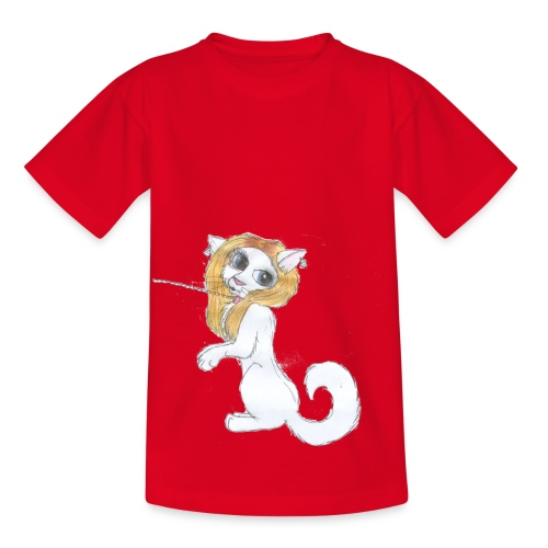Comic Katze - Kinder T-Shirt