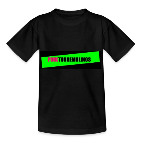 pinklogo - Kinderen T-shirt