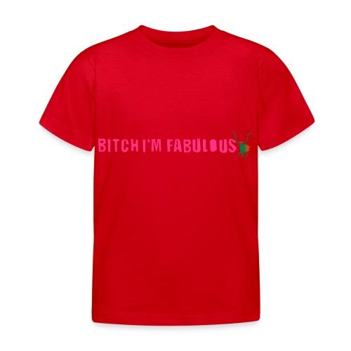 Bitch, I'm fabulous modliszka, długie - Koszulka dziecięca