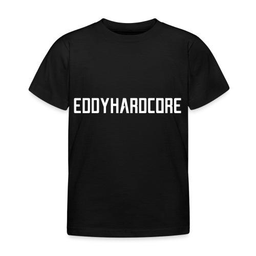 EddyHardcore logo nek transparant png - Kinderen T-shirt