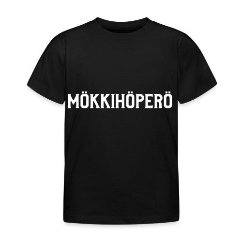 mokkihopero - Lasten t-paita
