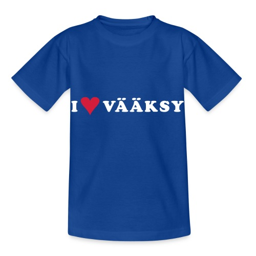 I LOVE VAAKSY - Lasten t-paita