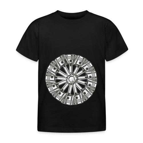 zuiger rol - Kinderen T-shirt