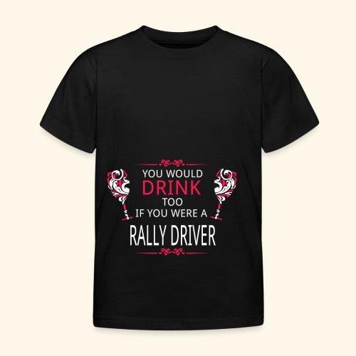 RALLY - Maglietta per bambini