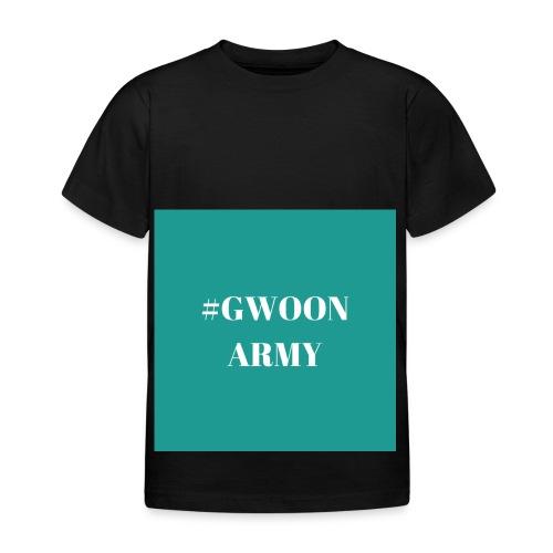 #gwoonarmy - Kinderen T-shirt