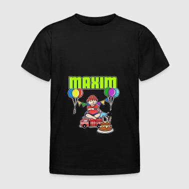 Brandmän Maxim Gift - T-shirt barn