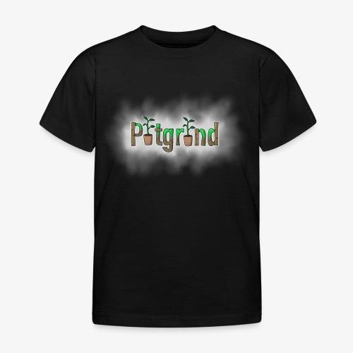 ''Potgrond'' met wolk! - Kinderen T-shirt