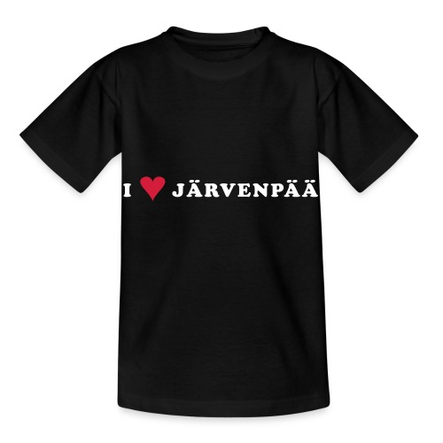 I LOVE JARVENPAA - Lasten t-paita