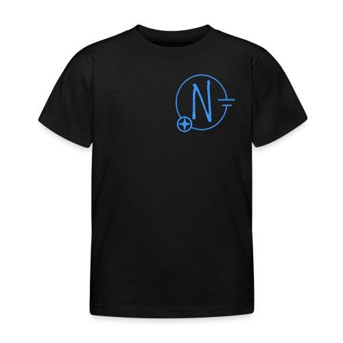 Logo1 blau - Kinder T-Shirt