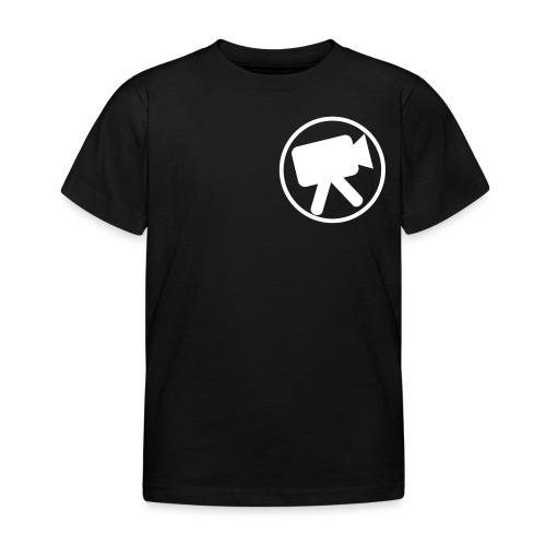 logo wit videotijd - Kinderen T-shirt