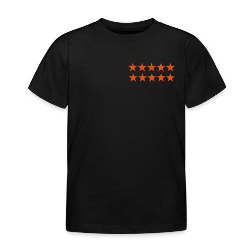 ratingstars - Lasten t-paita
