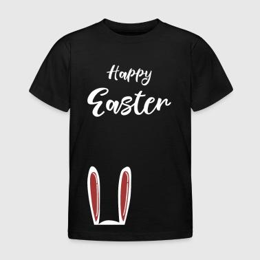 Joyeuses Pâques - Lapin de Pâques Oreilles de lapin cadeau - T-shirt Enfant