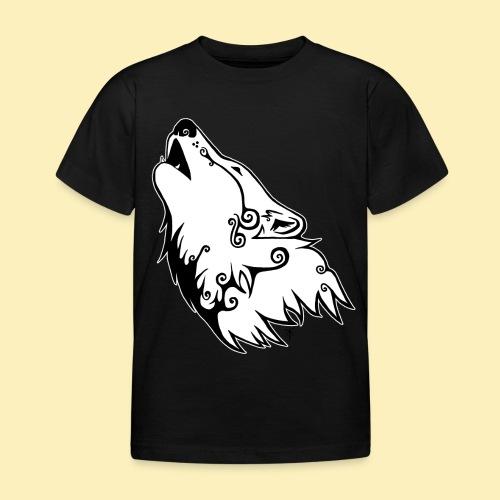 Le Loup de Neved (version contour blanc) - T-shirt Enfant