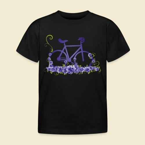 Kunstrad | Flower Power - Kinder T-Shirt