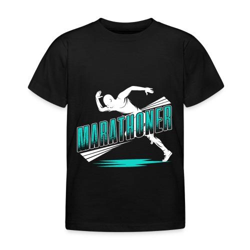 Marathoner - Kinder T-Shirt