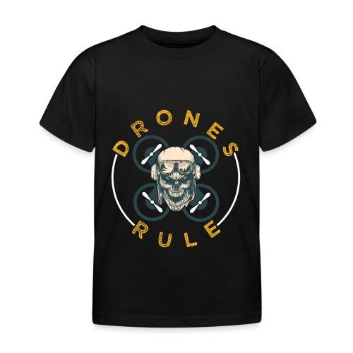 Drones Rule - Kinder T-Shirt