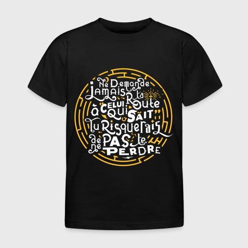 Aimer vivre et se perdre - T-shirt Enfant