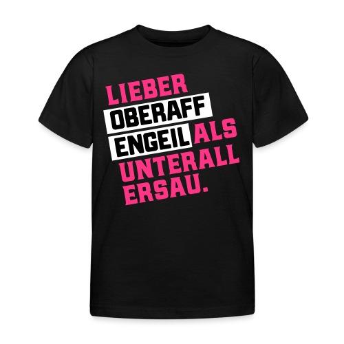 Ober-AFFEN-GEIL - Kinder T-Shirt
