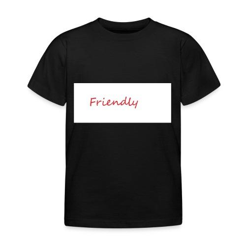 Friendly - Kinder T-Shirt
