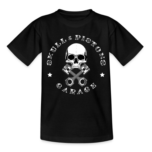 Tattoo font white merch - Kids' T-Shirt