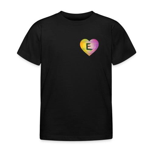 Extra E Name Design - Kids' T-Shirt