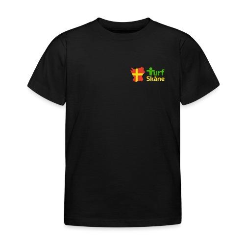 Turf Skåne Logo gul - T-shirt barn