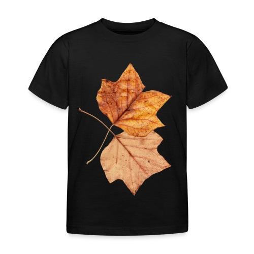 Blätter - Kinder T-Shirt