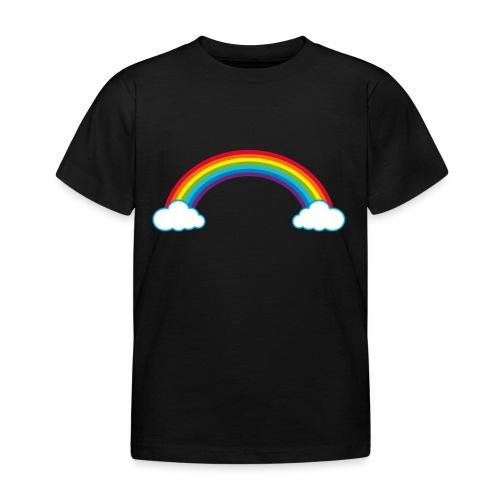 Regenbogen Sonne Herz Rainbow Cloud Heart - Kids' T-Shirt
