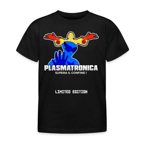 T SHIRT PLASMATRONICA LIMITED INDIEGOGO - Maglietta per bambini