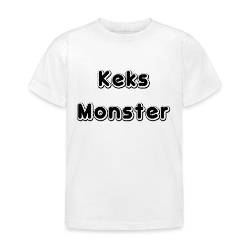 Keks Monster - Kinder T-Shirt