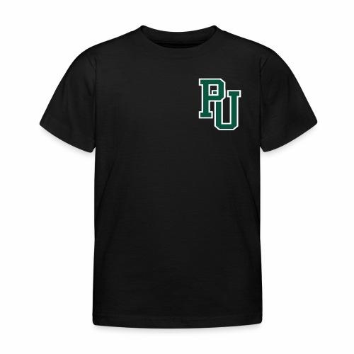 PU initialen - Kinderen T-shirt
