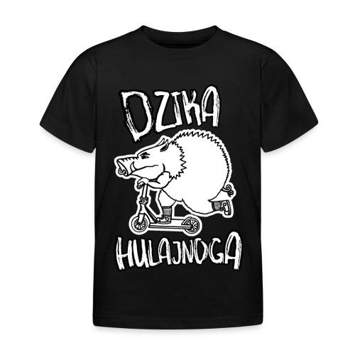 dzik na hulajnodze - Koszulka dziecięca